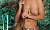 Eve Angel Hot Young Brunette Eve Angel Masturbating At Military Camp