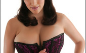 Pinup Files Jelena Jensen Jelena Jensen Vol. 6 Set 1 <B>36F Jelena Jensen'S</B> A Model, A Photographer, A TV Show Host And A Webmistress. That'S Right, She Is Back Again In Another Fabulous New Photo Set, This Time Wrapping Herself And Her Stupendous Charms In A Satiny Purple Cor
