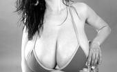 Pinup Files Anya Zenkova 35mm Vol01 Set02 Anya Zenkova 35mm Black And White Bikini Set