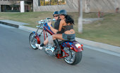 Porn Fidelity Content Of Eva Angelina - On My Way To The Local Biker Bar To Meet Up With My Husband I Came Across One Hot Mama On The Side Of The Road. I Told Her She Would Look Even Hotter Sitting On The Back Of My Man'S Bike. I Called Him Up And She Jumped On...