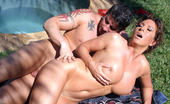 Vivid Cynthia Getting Fucked By The Pool Sultry Cynthia Chokes Down Hard Cock And Gets Her Pussy Ravaged