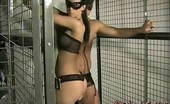 My Best Fetish Steel Cage Hardcore Fuck And Domination 307520 She Took Her Slave With Covered Eyes, Bringing Him To A Dungeon. She Put Him Inside A Steel Cage And Started To Hit Him With Her Leather Stick So Hard That He Was In Pain, But After A While He Was Requesting More And More. Then He Requested Her A Blowjob