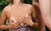 Hairy Pussy Porno Naughty Blondie Thais Got Her Hairy Pussy Fucked Like Crazy In This Sexy Outdoor Sexcapade