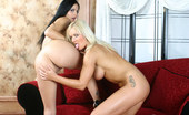 Girls Fuck Each Other Barbara Summers & Mikayla Lesbos Screw Each Other With A Strap-On As Soon As This Blonde And Brunette Got Naked, They Got The Strap-On To Screw Each Other