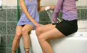 Girls Fuck Each Other Lil & Jenifer Wet And Wild Teen Lesbian Fun In A Bath Wet And Wild Teen Lesbian Fun Between Lil And Jenifer Get Them Cumming During A Warm Bath