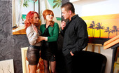 Fully Clothed Pissing Terry Sullivan Two Pretty Cute Redheads Drilled By A Horny Peeing Fellow