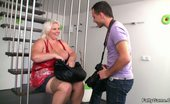 Fatty Game Stud Fucks A BBW After Photos The Photographer Is Seduced By The Blonde BBW And Their Sex Is Steaming Hot Stuff