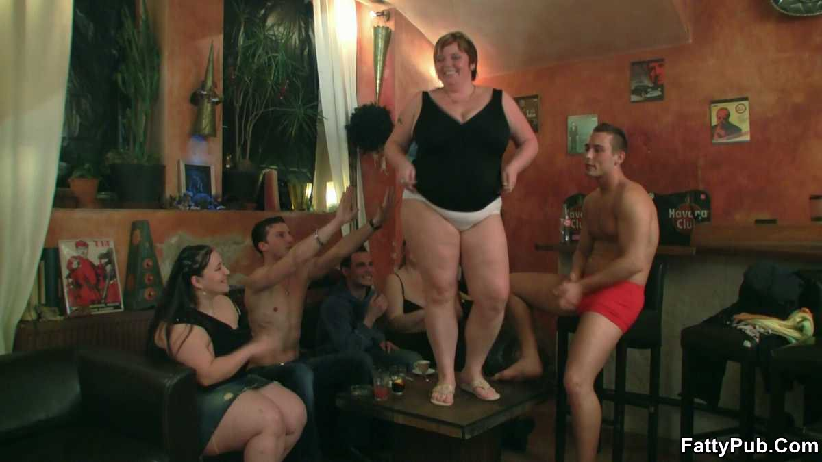 Bbw Group Pussy - Fatty Pub BBW Moans During Doggy Style Sex She Has A Dick Inside Her Fat  Pussy From Behind And It Makes Her Moan To Get Fucked Like That 310382 -  Good Sex Porn