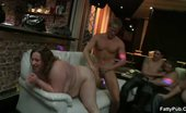Fatty Pub Beautiful BBWs At This Party 310417 The BBW Sluts At The Orgy Party Suck Dick And One Gets Fucked From Behind And In Missionary