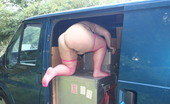 TAC Amateurs Tranny Van Hello GuysHere You Will See Me Having Fun In A Transit Van, Taking Pics Makes A Long Boring Journey Much More Fun.I Ch