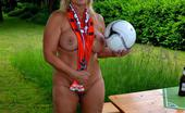 TAC Amateurs Football WM2014 Of Course I Will Watch The Matches Of The Football Championship. I Will Do This Nude In My Garden. Perhaps I Will Visit