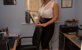 TAC Amateurs Office Girl So Hot In The Office, I Think I Need To Get Naked To Cool Down Melody X