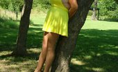 TAC Amateurs Hot Yellow Dress This Hot Yellow Dress Made Me Feel So Sexy - Especially Being Out In Public With No Panties