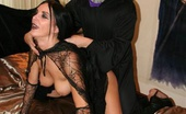 TAC Amateurs Halloween Pt4 Theres Only One Way To Celebrate Halloween And Thats With A Good Hard Cock. Come And Watch Witch Foxie Get Fucked Just F