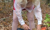 TAC Amateurs Sexy Secretary Sexy Secretary Enjoying A Picnic In The Woods - A See Thru Blouse - Some Upskirt - And A Tiny Pocket Rocket For Some Rea