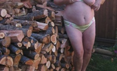 TAC Amateurs Hot Mama Hot Mama Out At The Woodpile. I'M Waiting For You Naughty Boy,You Might Need A Spanking
