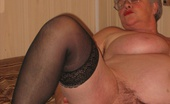 TAC Amateurs Black Nighty 315306 Black Sexy Nitie , Stockings And Hi Heels, And Ohhh That Beautiful Black Nipple Bra. Dont You Just Love The Way My Nippl