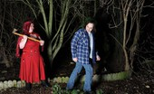 TAC Amateurs Red Riding Hood If You Go Down In The Woods Tonight, You'Re Sure Of A Big Surprise Red Riding Hood Has Taken The Woodsman'S Chopper And