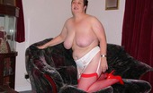 TAC Amateurs Slut In Red & White 315608 Would You Like Me To Strip For You Let Me Know Xxxx