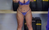 TAC Amateurs Garage Dress Pt2 315693 After Getting My Tyres Last Week, I Thought I Should Go And See Where They Fit Them. Melody X