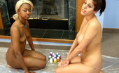 TAC Amateurs Lesbian Messy Body Paint Watch Me And My Pal Fiona Get Playful And Color Each Other With Finger Paints. Maybe You Can Join In Next Time