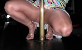 TAC Amateurs Devlynn Rides The Pole Playtime And A Pole. Want To Watch Kisses, Devlynn
