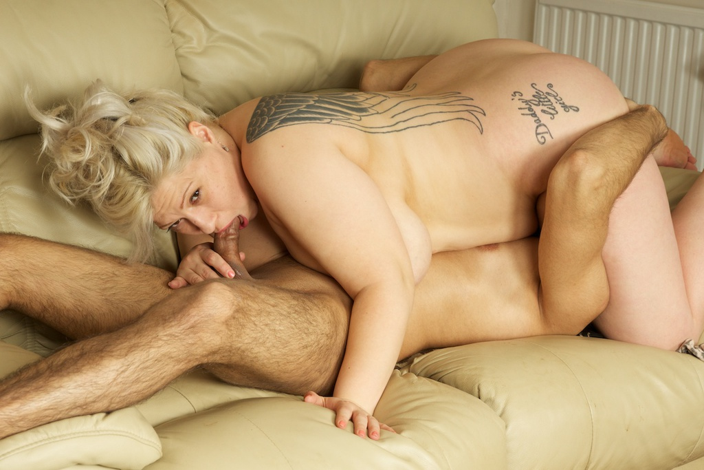 blonde wife anal