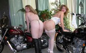 TAC Amateurs Devlynn & KC Ride How About Enough Boy Toys To Really Get Your Engine Going Well, Check Out SexyKC, Me, And My Motorcycles. Kisses, Devlyn