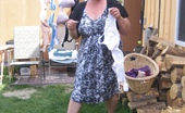TAC Amateurs Laundry Girl A Nice Spring Day And The Girdle Goddess Is Doing Some Laundry. Watch As I Spread Out A Bunch Of My Sexy Bras.And Spread