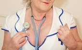 TAC Amateurs Nurse Claire Naughty Nurse Claire Is Here Waiting For You Guys To Come For Your Annual Check-Up, So Dont Be Shy, Get Your Kit Off And