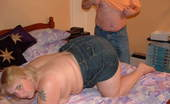 TAC Amateurs Johnny Cum Quickly 316283 Was Laying On My Bed When Johnny Horn Came In, I Wanted To Tease Him So I Let Him See My Bum, I Know That Johnny Loves M