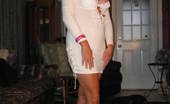 TAC Amateurs White Dress Hot In The Summer Tanning Naked And Thinking Of You Enjoying These Pictures And Wishing You Were With Me For RealxoRuth
