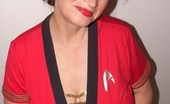 TAC Amateurs Star Trek Uniform I Have Always Loved Star Trek So For All You Fellow Trekkies Here Are Some Of Me In My Trekkie Uniform