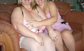 TAC Amateurs Barby & Kelly This Is One For You BBW Lovers, See Kelly And Me Getting Downto Some Dirty Lesbo Licking ....Mmmm