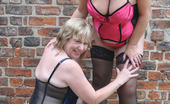 TAC Amateurs Speedy & Brit Lady On The Patio Hi Guys, I Had Gone To Visit My Good Friend Britlady For The Weekend And Was Looking Forward To Some Fun Frolics As Wel