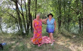 TAC Amateurs Sunny Day Another Sunny Day With Those Two Mature Sexy Cougars. Girdlegoddess And Mistress Sue, They Both Have Such A Fun Time In