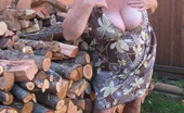 TAC Amateurs Seductive Girdle Goddess Seductive Girdlegoddess Is Waiting For You Out By The Wood Pile. Wouldn'T You Just Love To Bend Me Over That Stack Of Wo