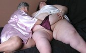 TAC Amateurs Libby Lisa If You Like SUPER BBW You And In For A Treat As Grandma Gets Together With Lisa. Lisa Is A Whole Lotta Woman To Get Hol