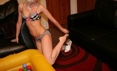 TAC Amateurs Ball Pool Toys You Wont Believe Some Of The Toys Tracey Can Get Deep In Her Arsehole And Cunt.