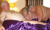 TAC Amateurs Libby Trish & Gary A Horny Fucking Threesome When Grandma Gets Together With Speedybee And Her Hubby Who Was Supposed To Be Taking The Pict