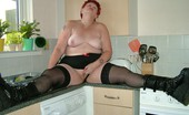 TAC Amateurs Naughty In The Kitchen I Just Love Posing For You Guys On TAC, And There Are Some Hot Pics In This Set.