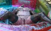 TAC Amateurs Paint Pool 4 Naked And Absolutely Covered In Paint, I Am Now So Turned On - Just For You.
