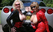 TAC Amateurs Barby, Claire & A Sexy Car 319031 Claire And I Where Lucky Enough To Be Invited To A Site Members House To See His Sexy Car..... So Guy'S See Claire And B