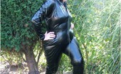 TAC Amateurs PVC Cat Suit 319054 'Happy New Year' To You All. Hope Yoou Enjoy Me In Pvc.