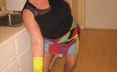 TAC Amateurs Latex & The Girdle Goddess I See Im Gojng To Have To Clean Up Here If I Show You My Sexy Girdle With My Latex Gloves On, You Will Do The Dishes Im