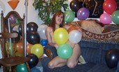 TAC Amateurs Birthday Suit Here I Am In My Birthday Suitgetting Ready To Have A Birthdayparty..Balloons Are So Much Funto Play With..