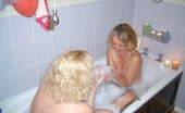 TAC Amateurs Barby Bath My Girlfriend Honey Came Round To See Me, After I Gave Her A Good Fucking With My Strap-On We Took A Fun Girly Bath Toge