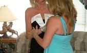 TAC Amateurs Devlynn Joins Irene Sluttish Little Devlynn For Hire See How Glamorous Irene Gets Her Moneys Worth. Kisses, Devlynn