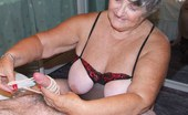 TAC Amateurs Black Red Body More Fun For Grandma When This Horny Young Member Visited Me To Let Me Have My Wicked Way With His Cock. A Faceful Of S