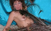 TAC Amateurs Peacock Feathers Im Surrounded By Peacock Feathers. Ahh, The Erotic Feel Of The Exotic Feather, Next To My Body.